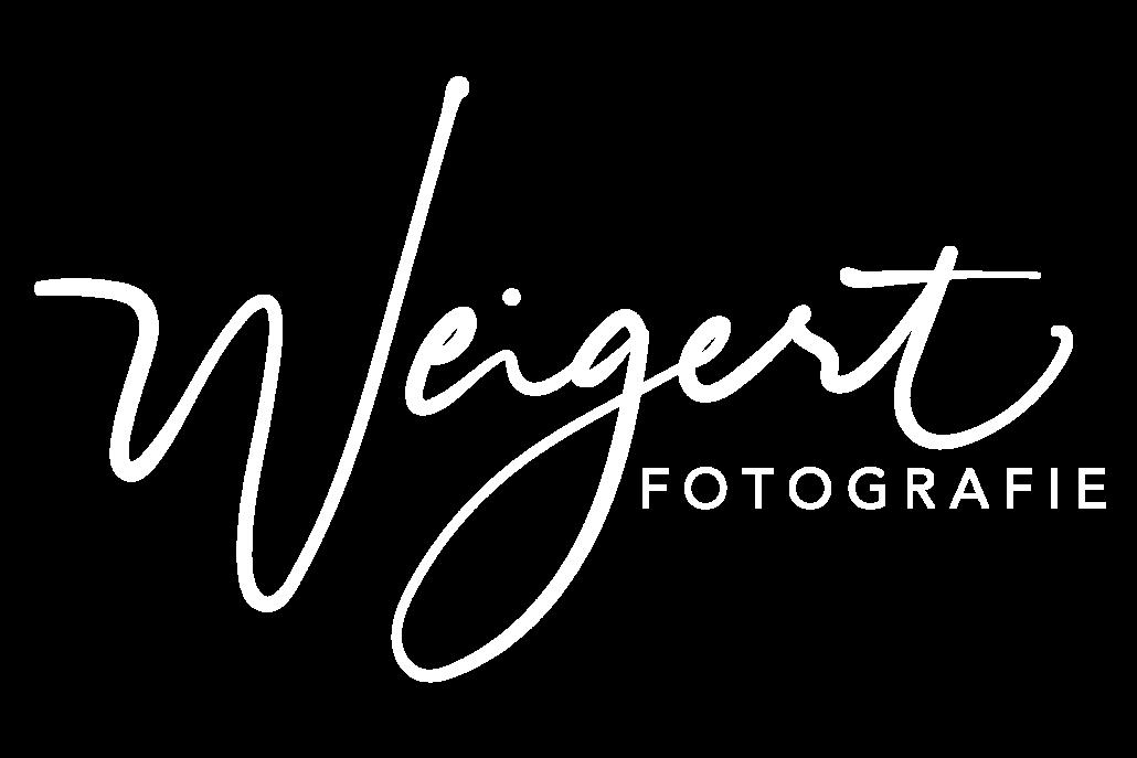 Weigert Fotografie Logo weiß