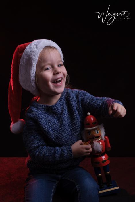 Kinderfoto Studio Weihnachten